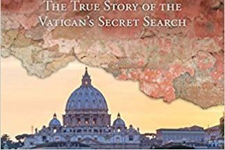 Cover of the book showing the Vatican at dusk